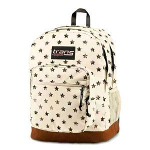 """JanSport 17"""" Super Cool Backpack - Distressed Star"""